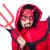 férfi · ördög · piros · jelmez · mosoly · szexi - stock fotó © elnur