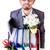 férfi · doboz · személyes · üzlet · mosoly · üzletember - stock fotó © elnur