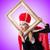 mulher · rainha · empresária · engraçado · trabalhar · empresário - foto stock © elnur