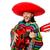 Meksika · adam · geniş · kenarlı · şapka · oynama · gitar · tipik - stok fotoğraf © elnur