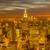 panorama · verlagen · Manhattan · schemering · New · York · City · uitwisseling - stockfoto © elnur