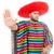 grappig · Mexicaanse · geïsoleerd · witte · gelukkig · achtergrond - stockfoto © elnur