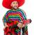 mexikói · férfi · szombréró · játszik · gitár · tipikus - stock fotó © elnur