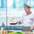 souriant · Homme · chef · cuisine · portrait - photo stock © elnur