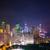 ver · Hong · Kong · pôr · do · sol · céu · edifício · cidade - foto stock © elnur