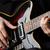 man · gitaar · concert · partij · metaal · kamer - stockfoto © elnur