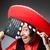 bandiet · Mexicaanse · revolver · snor · sombrero - stockfoto © elnur