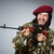 asker · tabanca · gri · saç · arka · plan · komik - stok fotoğraf © elnur