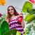 csinos · nő · növények · otthon · virág · igazgató · növény - stock fotó © elnur