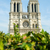notre dame de paris cathedral in summer day stock photo © elnur