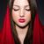 jonge · vrouw · hoofddoek · jonge · mode · model · handen - stockfoto © elnur