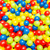 background of many colourful balls stock photo © elnur