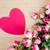 bağbozumu · güller · mesaj · kart · güzel · pembe - stok fotoğraf © elnur