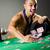 satıcı · iskambil · kartları · casino · fişi · kumarhane · kumar · poker - stok fotoğraf © elnur