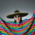 funny mexican wearing sombrero hat stock photo © elnur