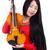 скрипки · белый · женщину · концерта · звук - Сток-фото © Elnur