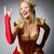 rainha · vermelho · traje · escuro · trabalhar · terno - foto stock © elnur