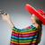 ragazza · mexican · pistola · grigio · donna - foto d'archivio © elnur