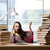 fiatal · diák · könyvek · vizsgák · könyv · férfi - stock fotó © elnur