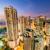 Hong · Kong · centro · da · cidade · pôr · do · sol · crepúsculo · cityscape · arranha-céu - foto stock © elnur