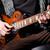 férfi · játszik · elektomos · gitár · közelkép · kép - stock fotó © elnur