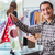 happy husband shopping with his wife stock photo © elnur