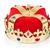 rei · coroa · isolado · branco · jóias · jóia - foto stock © elnur