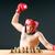 boxeador · xadrez · jogo · esportes · fitness · saúde - foto stock © elnur