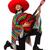 メキシコ料理 · 男 · ソンブレロ · 演奏 · ギター · 典型的な - ストックフォト © elnur