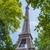 Eyfel · Kulesi · parlak · gün · gökyüzü · şehir · inşaat - stok fotoğraf © elnur