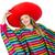 mexikói · nő · piros · ruházat · fehér · boldog - stock fotó © elnur