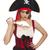 donna · pirata · sharp · arma · nero · Hat - foto d'archivio © elnur