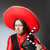 bandido · mexicano · revólver · bigote · sombrero - foto stock © elnur