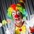 clown · lizak · odizolowany · biały · twarz · candy - zdjęcia stock © elnur