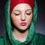 moslim · vrouw · hoofddoek · mode · gelukkig · achtergrond - stockfoto © elnur