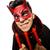 szczęśliwy · diabeł · długie · włosy · człowiek · maska · czasu - zdjęcia stock © elnur