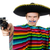 funny young mexican with gun isolated on white stock photo © elnur