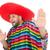 engraçado · mexicano · isolado · branco · feliz · fundo - foto stock © elnur