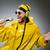 человека · желтый · костюм · вечеринка · танцы - Сток-фото © elnur