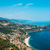 aerial view of menton town in french riviera stock photo © elnur