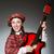 kadın · kostüm · top · şapka · elbise · karnaval - stok fotoğraf © elnur