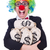 grappig · clown · geld · zakken · geïsoleerd · witte - stockfoto © elnur