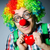 clown with red heart in romantic concept stock photo © elnur
