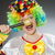 clown with mic in funny concept stock photo © elnur