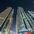 dubai marina skyscrapers during night hours stock photo © elnur
