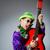 vicces · férfi · zene · hangszer · fehér · hegedű - stock fotó © elnur