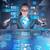 mulher · social · dados · gestão · negócio · tecnologia - foto stock © elnur