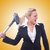 zakenvrouw · schoonmaken · stofzuiger · witte · huis · werk - stockfoto © elnur