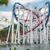 railway of roller coaster in amusement park stock photo © elnur