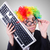 funny clown with keyboard on white stock photo © elnur